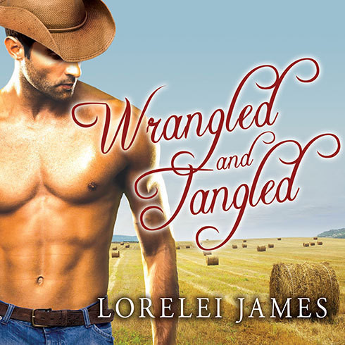 Printable Wrangled and Tangled Audiobook Cover Art