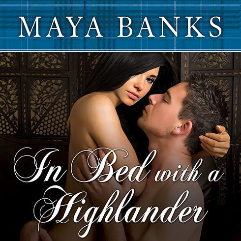 Printable In Bed with a Highlander Audiobook Cover Art