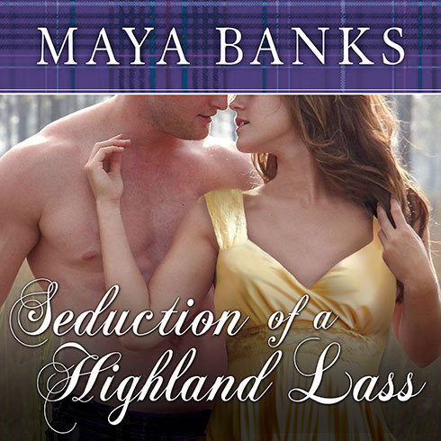 Printable Seduction of a Highland Lass Audiobook Cover Art