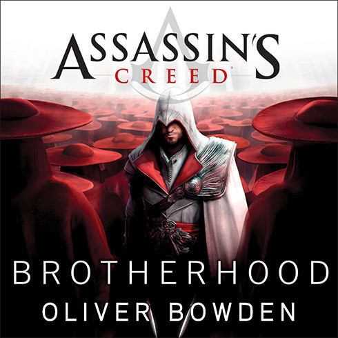 Printable Assassin's Creed: Brotherhood Audiobook Cover Art