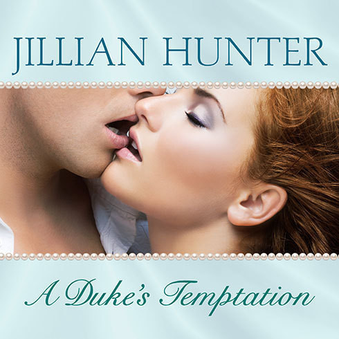 Printable A Duke's Temptation Audiobook Cover Art