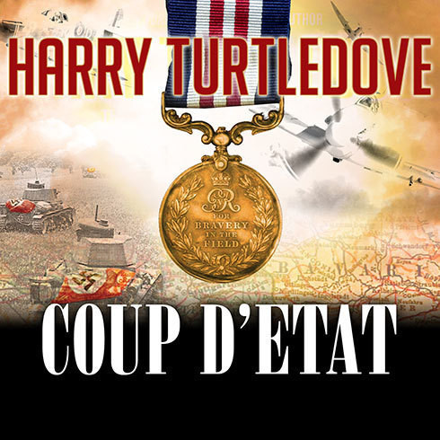 Printable Coup d'Etat Audiobook Cover Art