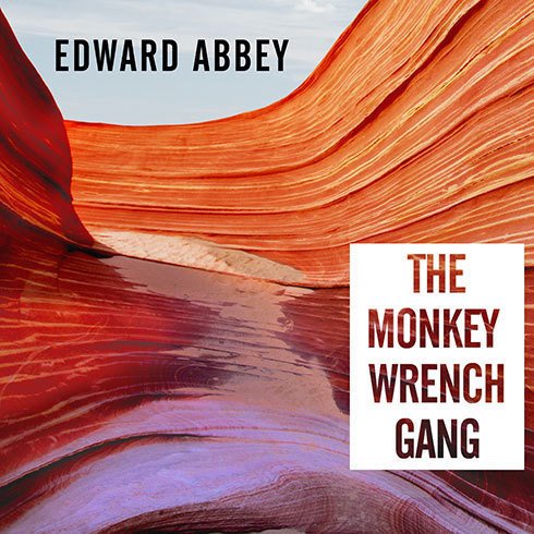 Printable The Monkey Wrench Gang Audiobook Cover Art