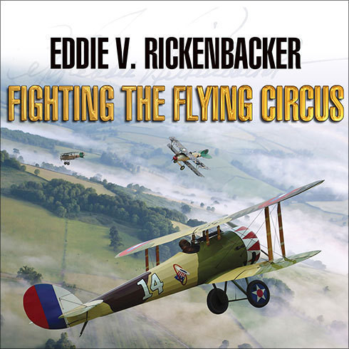 Printable Fighting the Flying Circus Audiobook Cover Art