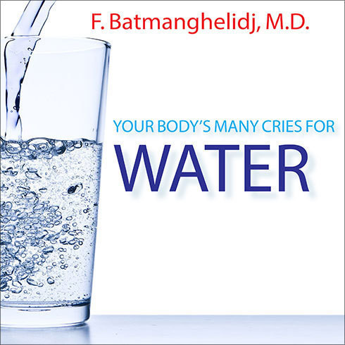 Printable Your Body's Many Cries For Water Audiobook Cover Art