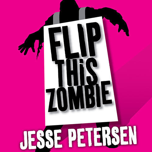 Printable Flip This Zombie Audiobook Cover Art