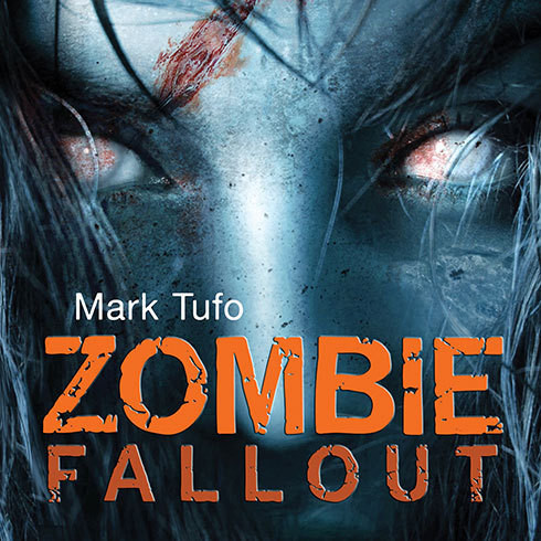 Printable Zombie Fallout Audiobook Cover Art