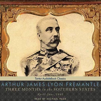 Printable Three Months in the Southern States:  April-June, 1863 Audiobook Cover Art