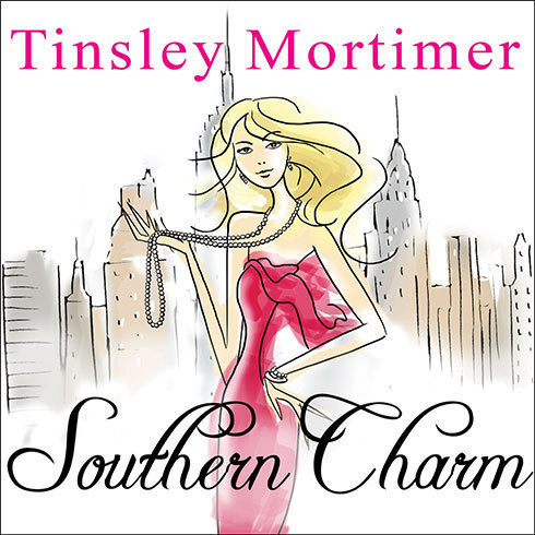 Printable Southern Charm: A Novel Audiobook Cover Art