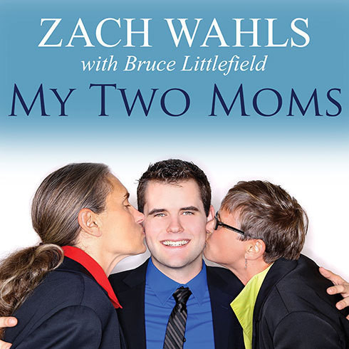 Printable My Two Moms: Lessons of Love, Strength, and What Makes a Family Audiobook Cover Art