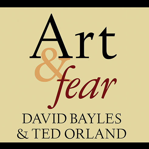 Printable Art & Fear: Observations On the Perils (and Rewards) of Artmaking Audiobook Cover Art