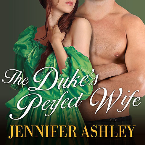 Printable The Duke's Perfect Wife Audiobook Cover Art