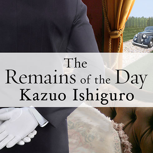 Printable The Remains of the Day Audiobook Cover Art