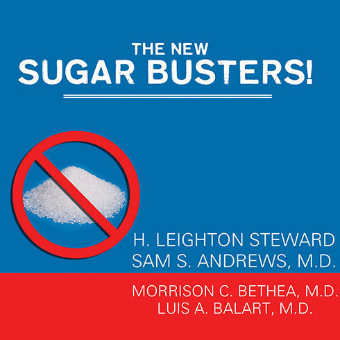 Printable The New Sugar Busters!: Cut Sugar to Trim Fat Audiobook Cover Art