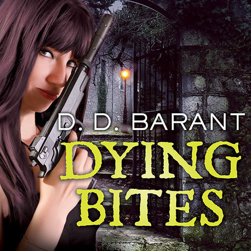 Printable Dying Bites: Book One of the Bloodhound Files Audiobook Cover Art