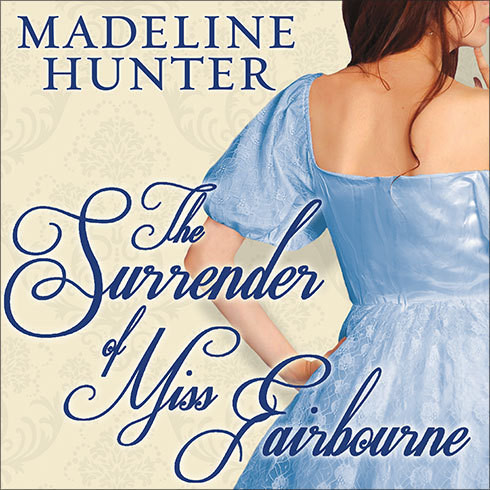 Printable The Surrender of Miss Fairbourne Audiobook Cover Art