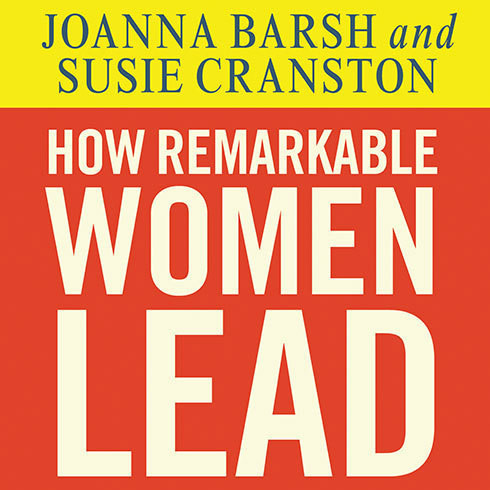 Printable How Remarkable Women Lead: The Breakthrough Model for Work and Life Audiobook Cover Art