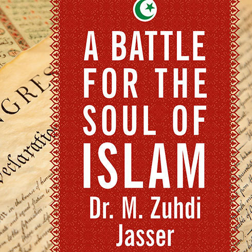 Printable A Battle for the Soul of Islam: An American Muslim Patriot's Fight to Save His Faith Audiobook Cover Art
