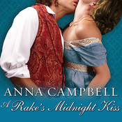 A Rake's Midnight Kiss Audiobook, by Anna Campbell