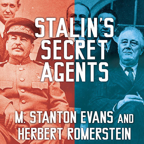 Printable Stalin's Secret Agents: The Subversion of Roosevelt's Government Audiobook Cover Art
