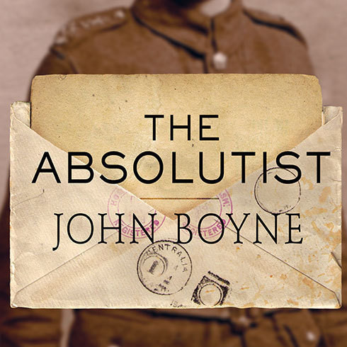 Printable The Absolutist Audiobook Cover Art