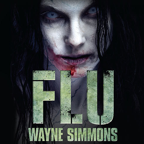 Printable Flu Audiobook Cover Art