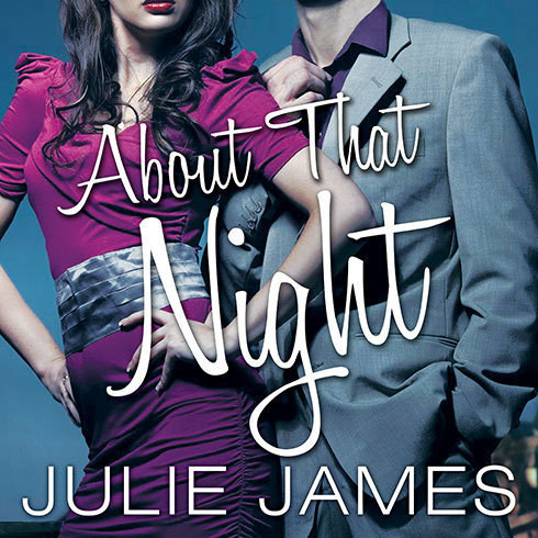 Printable About That Night Audiobook Cover Art