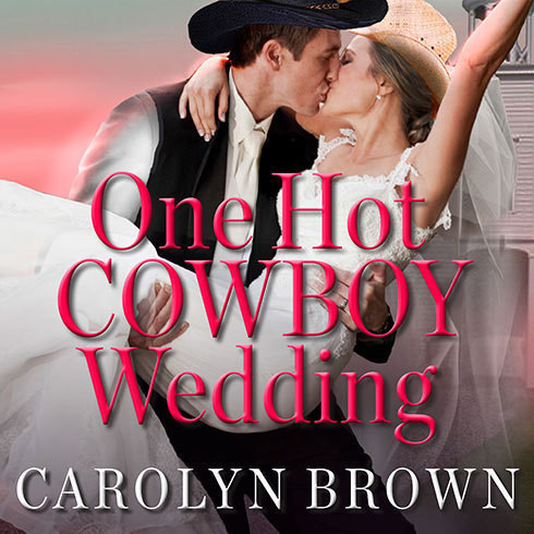 Printable One Hot Cowboy Wedding Audiobook Cover Art