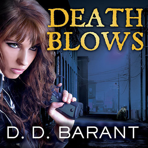 Printable Death Blows Audiobook Cover Art