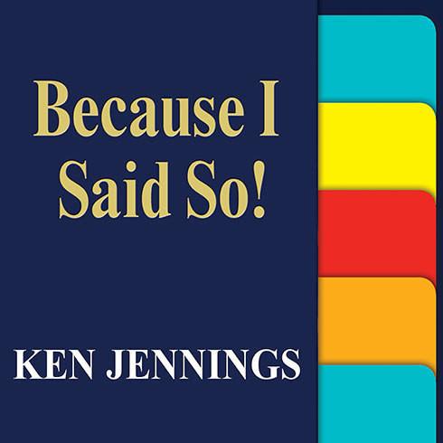 Because I Said So Book Because I Said So! - A...