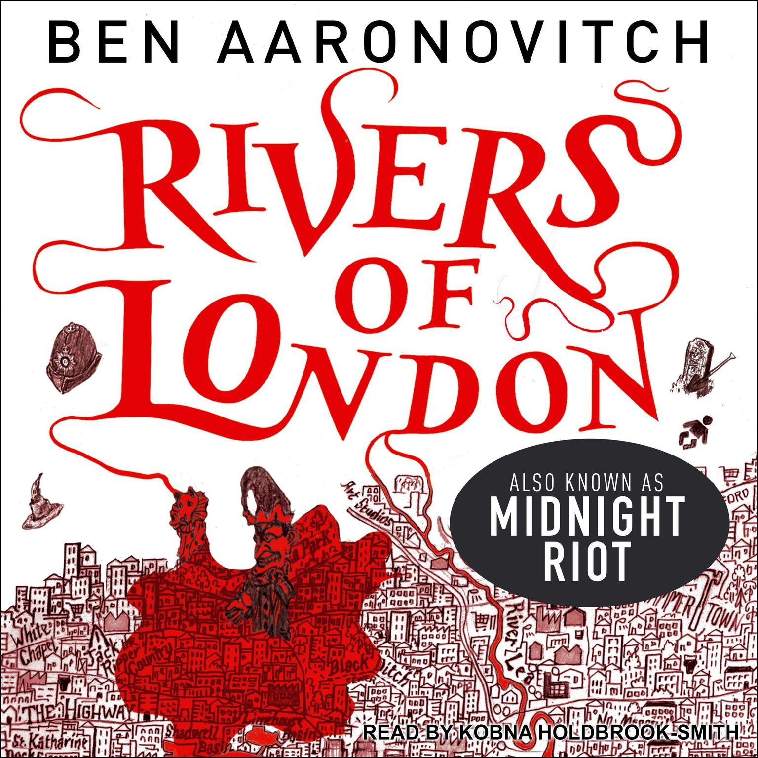 Printable Midnight Riot Audiobook Cover Art