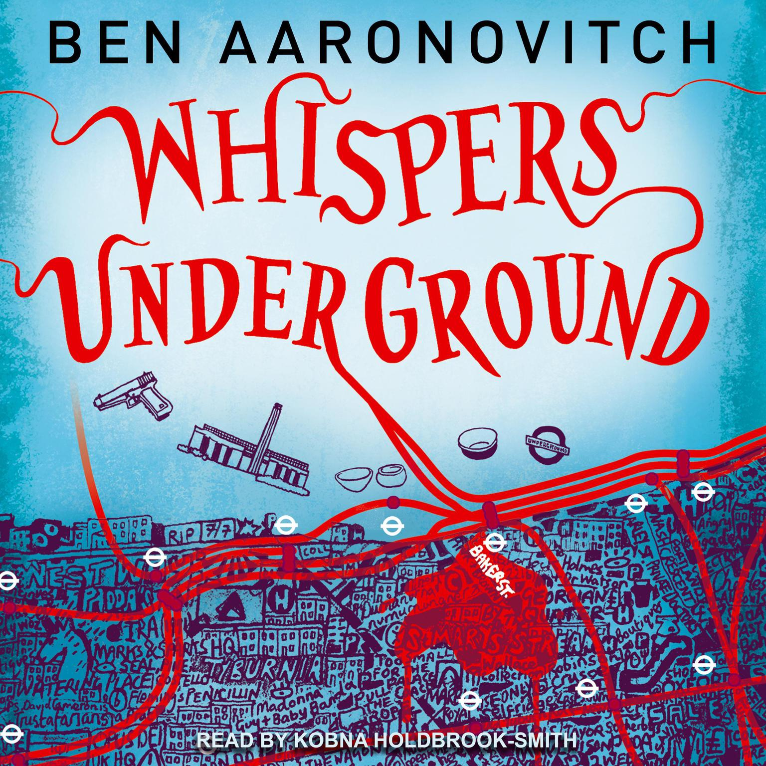 Printable Whispers under Ground Audiobook Cover Art