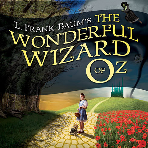 Printable The Wonderful Wizard of Oz Audiobook Cover Art
