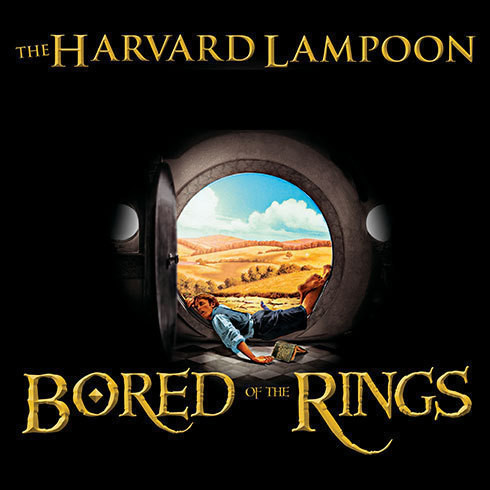 Printable Bored of the Rings: A Parody Audiobook Cover Art