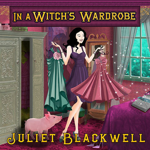 Printable In a Witch's Wardrobe Audiobook Cover Art