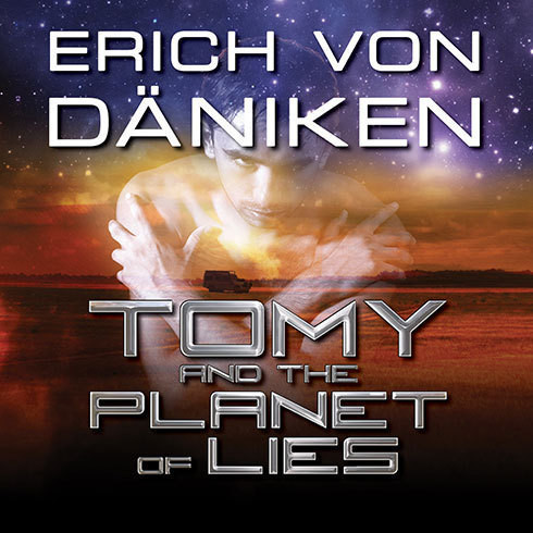 Printable Tomy and the Planet of Lies Audiobook Cover Art
