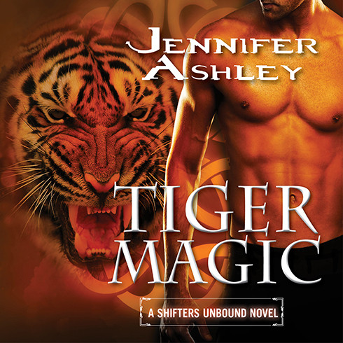 Printable Tiger Magic Audiobook Cover Art