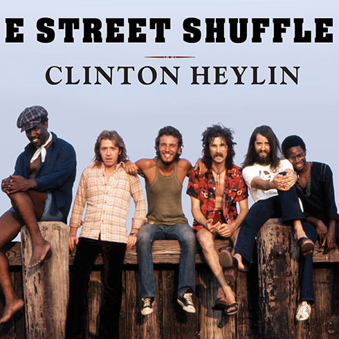 Printable E Street Shuffle: The Glory Days of Bruce Springsteen and the E Street Band Audiobook Cover Art