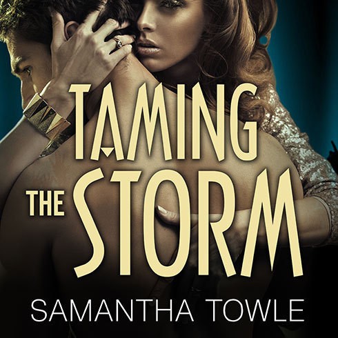 Printable Taming the Storm Audiobook Cover Art