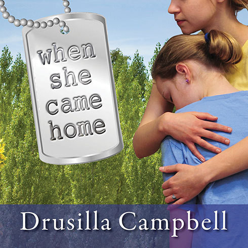Printable When She Came Home Audiobook Cover Art