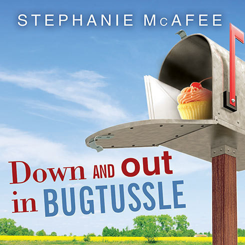 Printable Down and Out in Bugtussle: The Mad Fat Road to Happiness Audiobook Cover Art