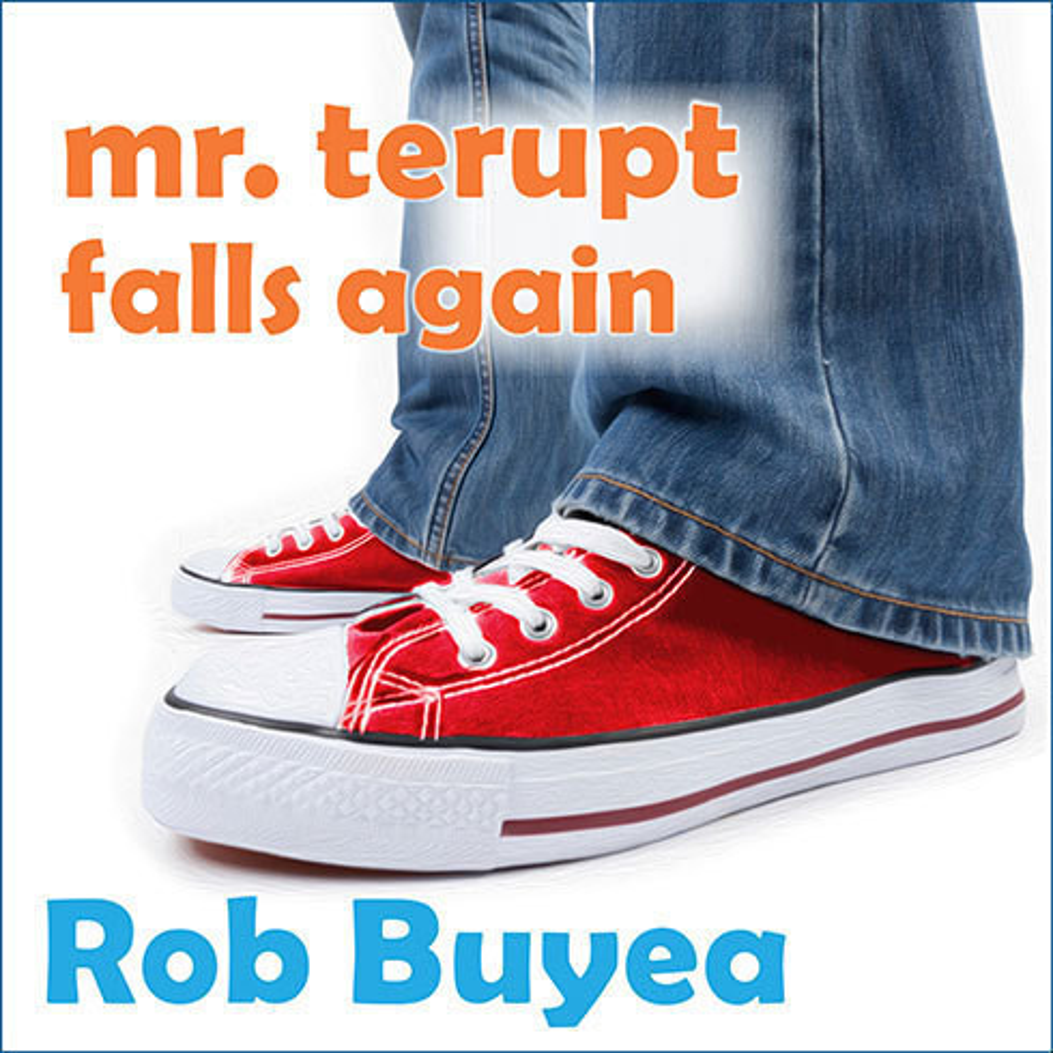 Printable Mr. Terupt Falls Again Audiobook Cover Art