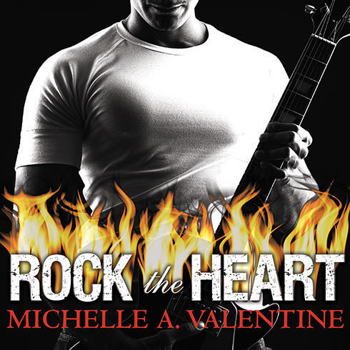 Printable Rock the Heart Audiobook Cover Art
