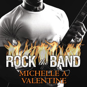 Rock the Band: A Black Falcon Novella , by Michelle A. Valentine