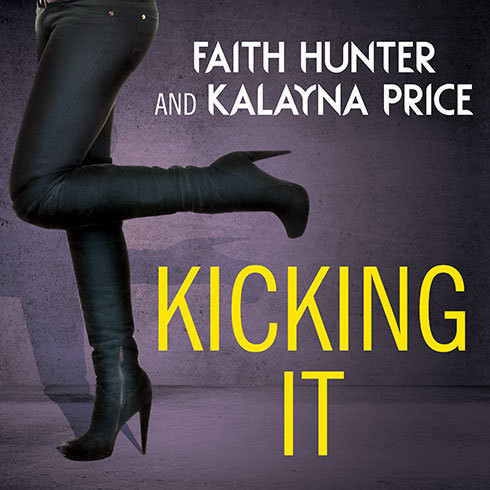 Printable Kicking It Audiobook Cover Art