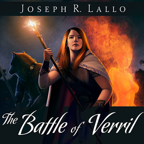 Printable The Battle of Verril Audiobook Cover Art