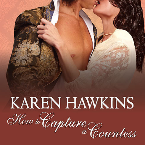 Printable How to Capture a Countess Audiobook Cover Art