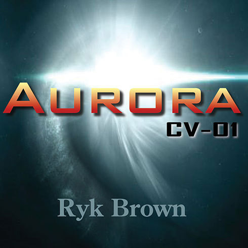 Printable Aurora: CV-01 Audiobook Cover Art