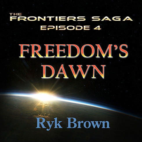 Printable Freedom's Dawn Audiobook Cover Art