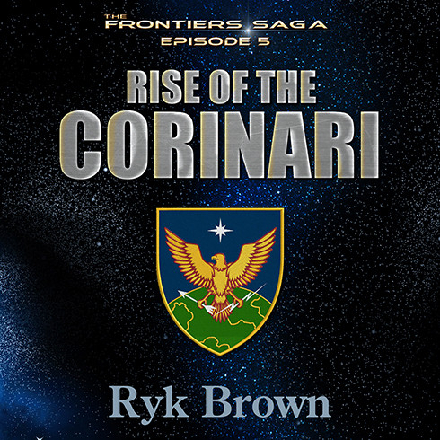 Printable Rise of the Corinari Audiobook Cover Art